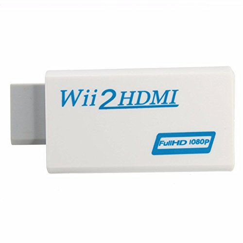 C-FUNN Wii naar HD Output Upscaling Converter met 3.5mm Audio Adapter 1080P