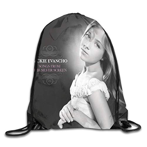 Yuanmeiju Jackie Evancho Songs from The Silver Screen Fashion Bundle Backpack Shoulder Bags Drawstring Design Bag