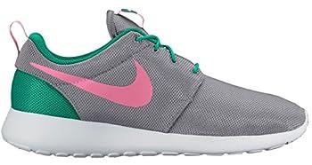 Nike Men s Roshe Running Shoe  9.5 M US Wolf Grey/Sunset Pulse-Kinetic Green