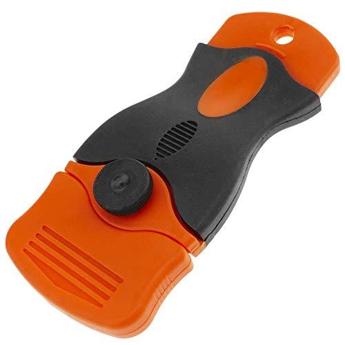 PrimeMatik - Schraper 38 mm. Schraper voor het reinigen van gladde oppervlakken, glazen en keramische kookplaten