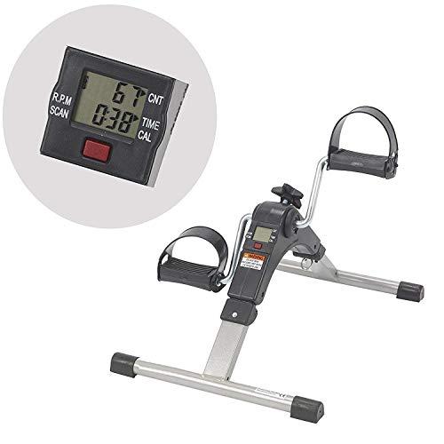 LIJJY Mini-Bike Heimtrainer Pedaltrainer Bewegungstrainer Bewegungstraining Fitnessgerät Für Arme Und Beine Für Senioren Und Kinder