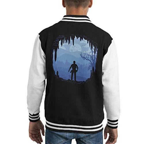 Cloud City 7 Hideout Uncharted 4 Kid's Varsity Jacket