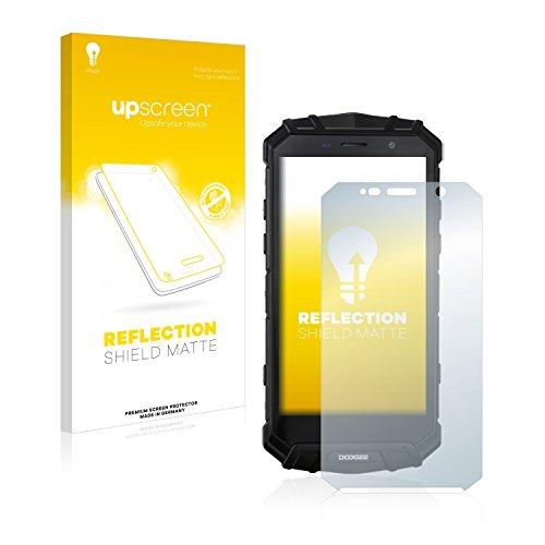 upscreen Entspiegelungs-Schutzfolie kompatibel mit Doogee S60 Lite – Anti-Reflex Bildschirmschutz-Folie Matt