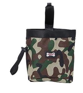 Septven Sac camouflage pour promener votre chien - Pochette pour mettre les friandises de vos animaux de compagnie et distributeur de sacs à déjections