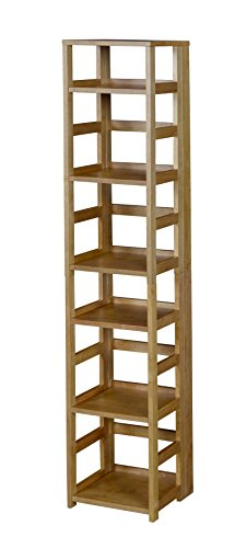 Niche Flip Flop Square Folding Bookcase, 67-inch Only $121.99 (Retail $182.77)