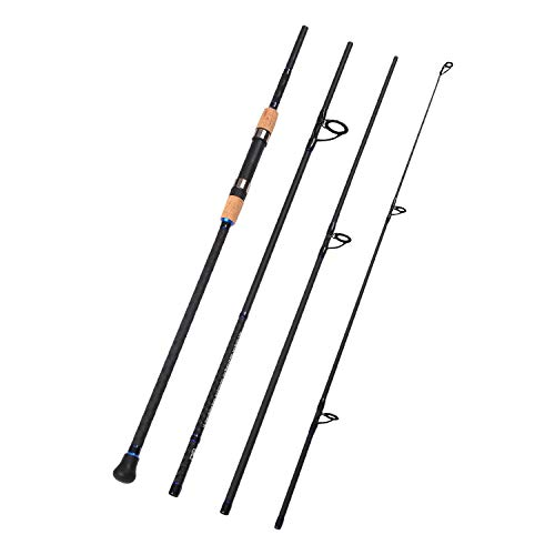 Fiblink 4-Piece Surf Spinning & Casting Fishing Rod