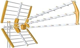 Antena TDT LTE Alta Ganancia 18 dB BKM (Naranja