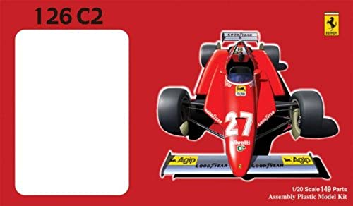 1 20 Ferrari 126C2 Sunmarino GP (Model Car) Fujimi GPSP-2 Gründ Prix Series Spot
