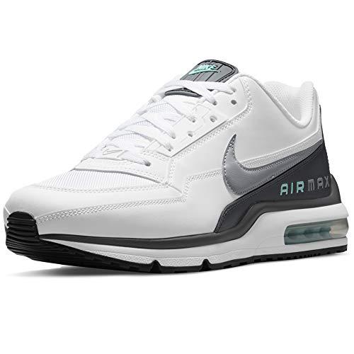 Nike Air MAX LTD 2, Zapatillas para Correr Hombre, White LT Smoke Grey Iron Grey Tropical Twist Black, 42 EU