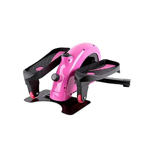 XYLUCKY Máquina Elíptica Compacta Ergonómica para Ejercicio Debajo del Escritorio, con Pedal Antideslizante, Monitor De Pantalla, para Entrenador Compacto De Entrenamiento De Oficina En Casa