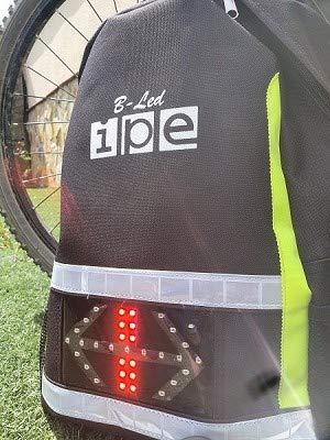 IPE-rugzak met led-verlichting B-LED M Mod.4 Indicatoren en positielicht. Professionele dag/nacht