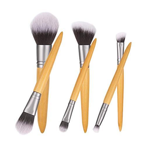 Make-up Pinsel, 6 Stücke Cosmetic Foundation Puder Pinsel Lidschatten Nase Lip Concealer Pinsel...