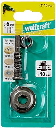Wolfcraft 1 Spanndorn für Bohrung 10mm, Schaft 6mm