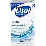 Dial Antibacterial Deodorant Soap, White, 4 Ounce (Pack...