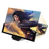 ODLR 14' Lupa de Pantalla para Teléfono, Amplificadores de Pantalla 3D HD para Ver Películas y Videos en Todos los Teléfonos Inteligentes