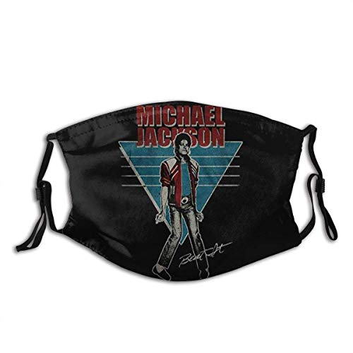 Mundschutz Michael Jackson Vintage Mouth Cover Face Cover Headscarf Outdoor Seamless Reusable Mouth Scarf