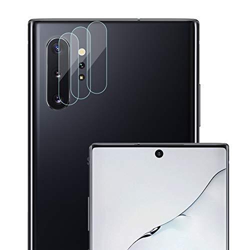 NUPO 3 Stück Kamera Linse Schutzfolie für Samsung Galaxy Note10 / Note10+ / Note10+ 5G, Kein Glas Objektiv Bildschirmschutzfolie, Ultra HD Kratzfest Film biegsame Kunststofffolie Folie für Note 10 + Plus