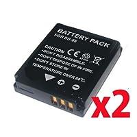 【バッテリー 2個セット】 RICOH DB-65 互換 バッテリー GR DIGITAL IV III / G700 G600 GX200 等 対応