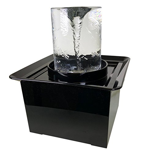 Quox Creek Vortex Fountain, Tabletop Size