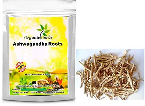 Organic Herbs Withania Somnifera,Indian Ginseng Roots Natural (100gm)