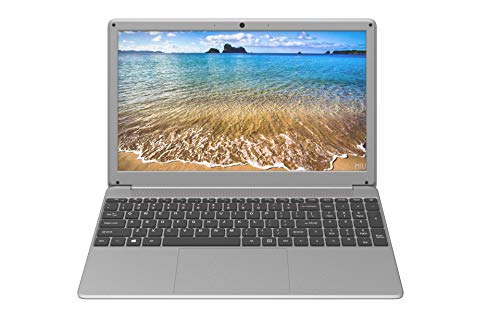 Speider Intel core i5 - Thin and Light Notebook 15.6 inch Laptop 250 GB SSD Windows 10 Silver