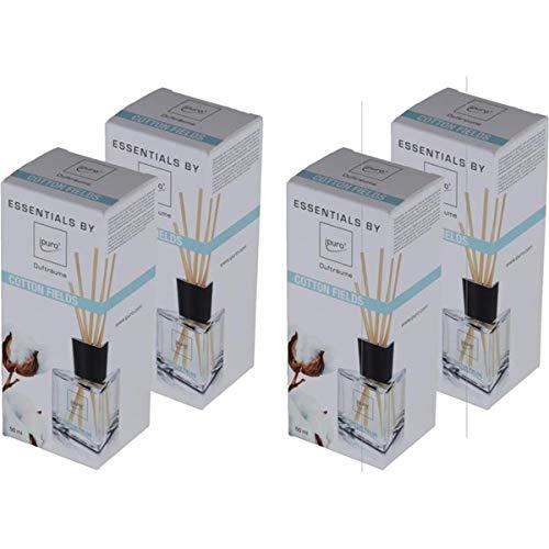 Essentials by ipuro Cotton Fields 50ml Raumduft (4er Pack)
