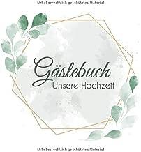 Gästebuch Unsere Hochzeit Hochzeitsgästebuch