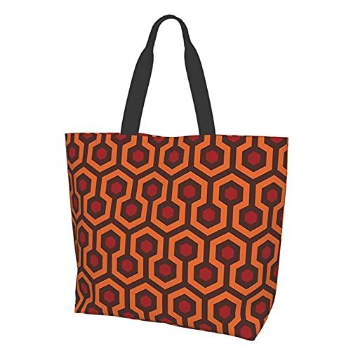 Sac fourre-tout à bandoulière, sac à main avec texture tapis brillant, grande capacité, sac de rangement pour femme, étudiant, shopping, voyage