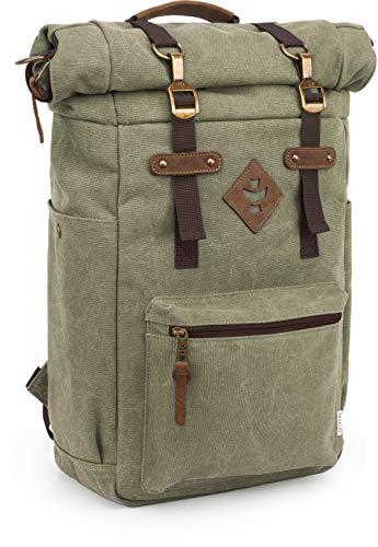 Revelry Supply The Drifter Rolltop Backpack, Sage Rucksack, graugrün