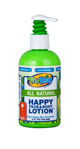TruKid Happy Face and Body Moisturizing Lotion, 8 Ounce by TruKid