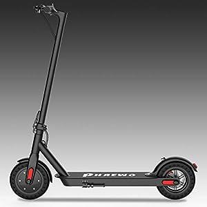 Phaewo E Scooter Klappbar Elektro Scooter Bis 25 km/h,Mit 30km Langstrecken Batterie, Mit Vorderen und Hinteren Rückleuchten, 250W Motor, Einfach zu Falten und zu tragen Design