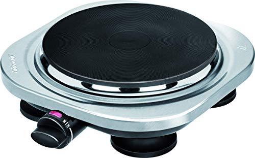 MPM MKE-10M draagbare elektrische kookplaat (18,5 cm), 1500 W, dimbare thermostaat