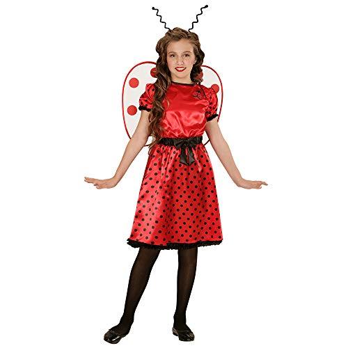 Widmann Ladybug Girl - Childrens Costume de déguisement - Moyen - Âge 8-10 -140cm