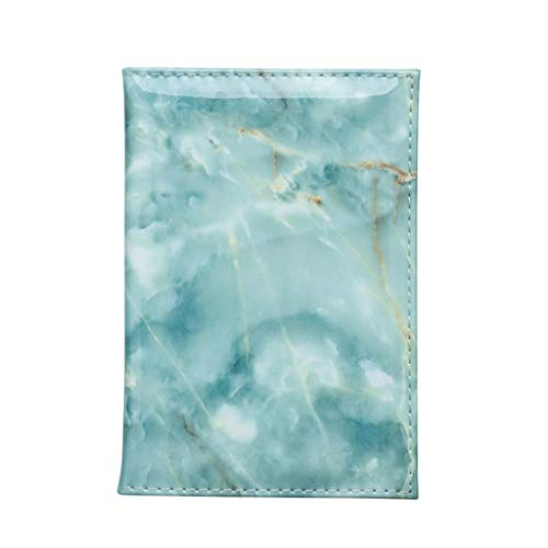 Calvinbi Reisepass Schutzhülle mit Marmor Drunken Damen Herren Passhülle Wasserdicht Elegante Reisepasshülle fur Kreditkarten Ausweis und Reisedokumente