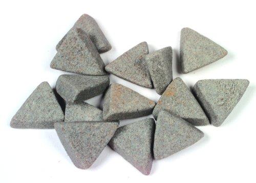 Raytech-41-310 Ceramic Media, Triangle, 5 16  x 7 8