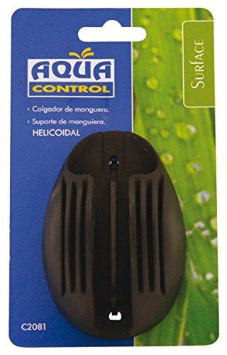 Aqua Control C2081 – Soporte colgador estándar para manguera helicoidal. Fijación en pared. Tacos y tornillos incluidos.
