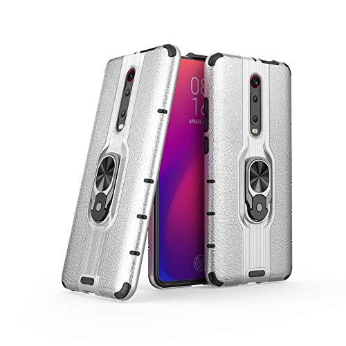 FAWUMAN Hülle für Xiaomi Redmi K20 mit Standfunktion, PC + TPU Rüstung Defender Ganzkörperschutz Hard Bumper Silikon Handyhülle stossfest Schutzhülle Case