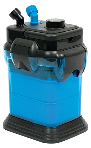 Cascade CCF1UL Canister Filter For Large Aquariums and Fish Tanks – Up To 30 Gallons, Filters 115 GPH
