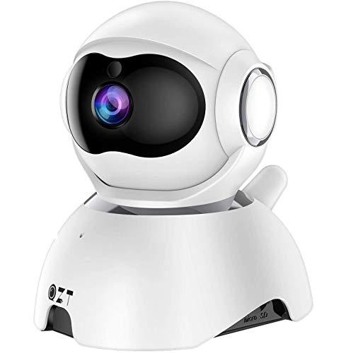 Cámara Vigilancia WiFi Interior, QZT 1080P FHD Cámara IP con Visión Nocturna
