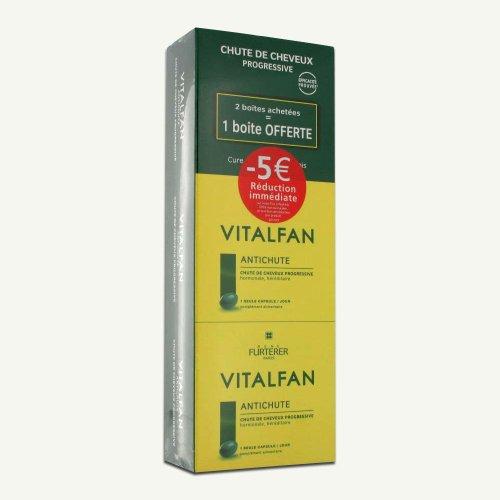Rene Furterer Vitalfan anti-chute progressive capsules lot de 3
