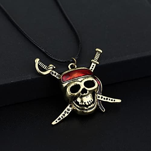 MIKUAX Collar Medallón de Moneda de gorrión Azteca Colgante de Plata de Bronce de Oro Vintage al por Mayor