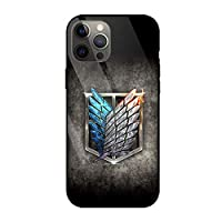 進撃の巨人 Attack on Titan スマートフォン ケース 強化ガラスケース 鏡面ガラス ハードケース 耐衝撃 携帯電話ケース iPhone11 IPHONE 11 アイフォン11 携帯カバー スマホケース アニメ アイフォン (10)