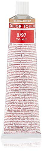 Wella Color Touch Rich Naturals 9/97 lichtblond cendré, braun, 1er Pack (1 x 60 ml)