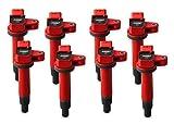 Msd Coil, 98-10 Toy/Lex 4.7L V8, 8Pk, Red