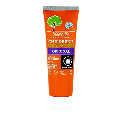 URTEKRAM - Dentifrice Enfants Sans Fluor Original 75 Ml