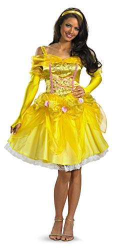 Disguise Disney Beauty And The Beast Sassy Belle Costume, Multi, Small/4-6