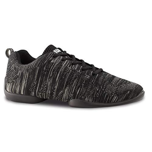 Anna Kern Uomini Dance Sneakers/Scarpe da Ballo 4025 Bold - Grigio/Nero - Suola Sneaker [UK 8]