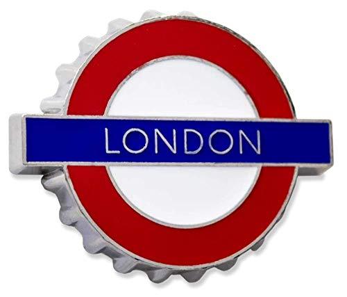 GWC London Underground Sign, Londen, Metalen Koelkast Magnet/Flesopener