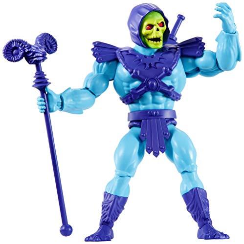 Masters of the Universe- Personaggio Skeletor da 14 cm, Giocattolo da Collezione per Bambini 6+Anni, GNN88