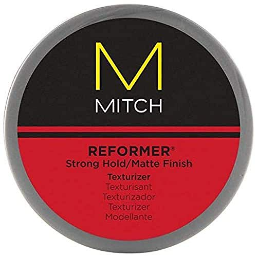 Paul Mitchell Mitch Reformer Texturizing Hair Putty, Strong Hold, Matte Finish, 3 oz
